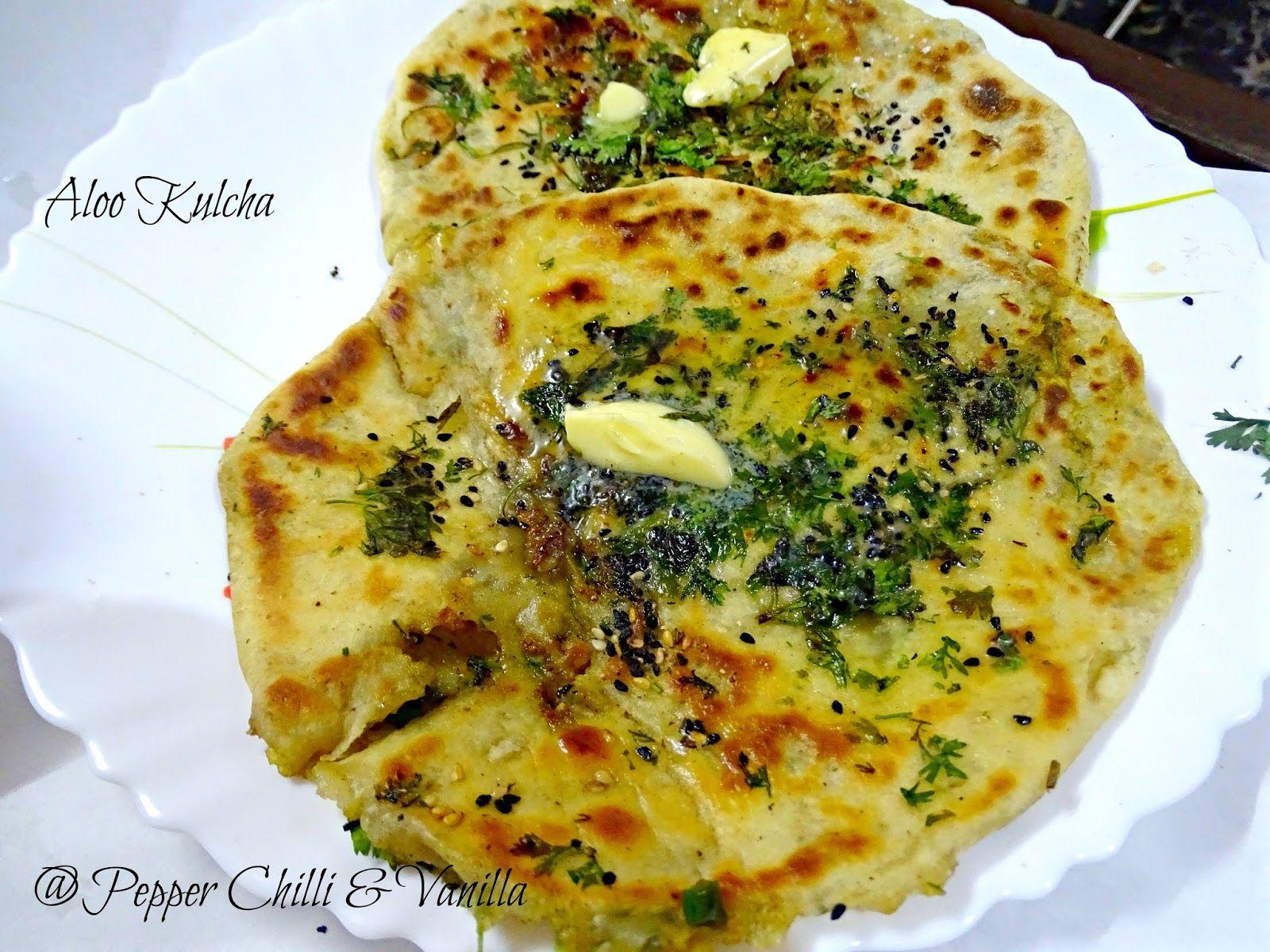 Amritsari kulcha aloo kulcha recipes indian breads and rotis vegan indian food amritsari aloo kulcha recipe forumfinder Choice Image