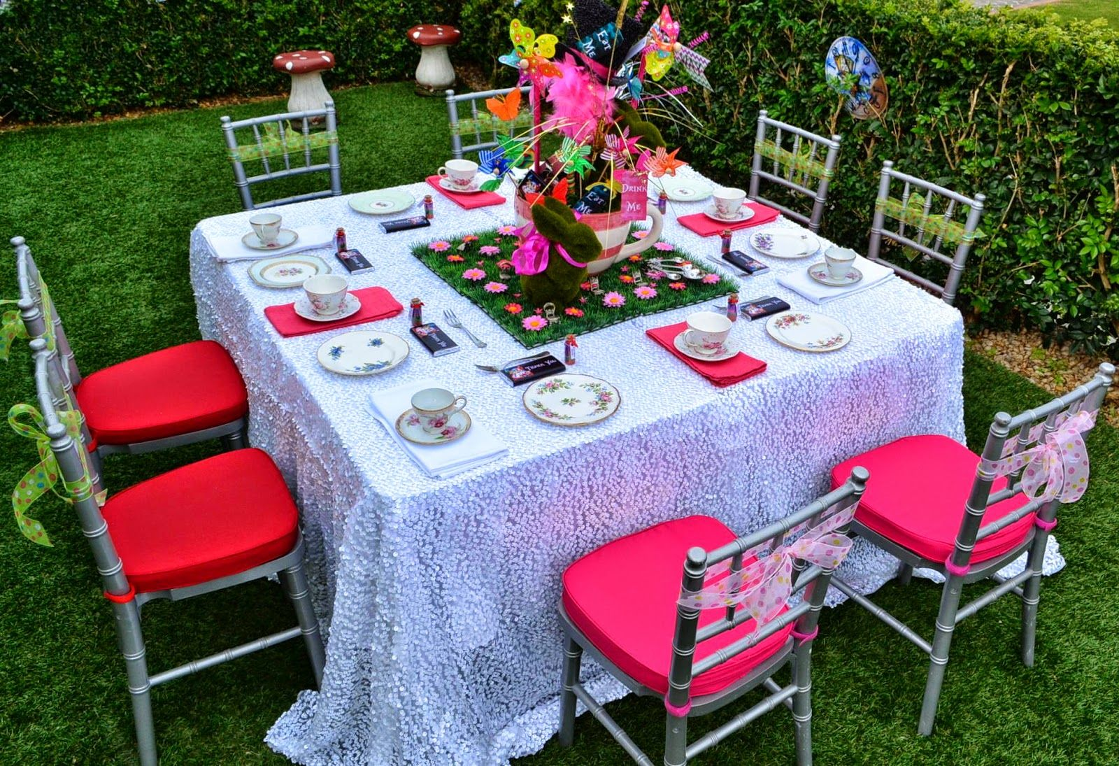 Little Wish Parties - Blog: Alice In Wonderland Party By Events By Nina