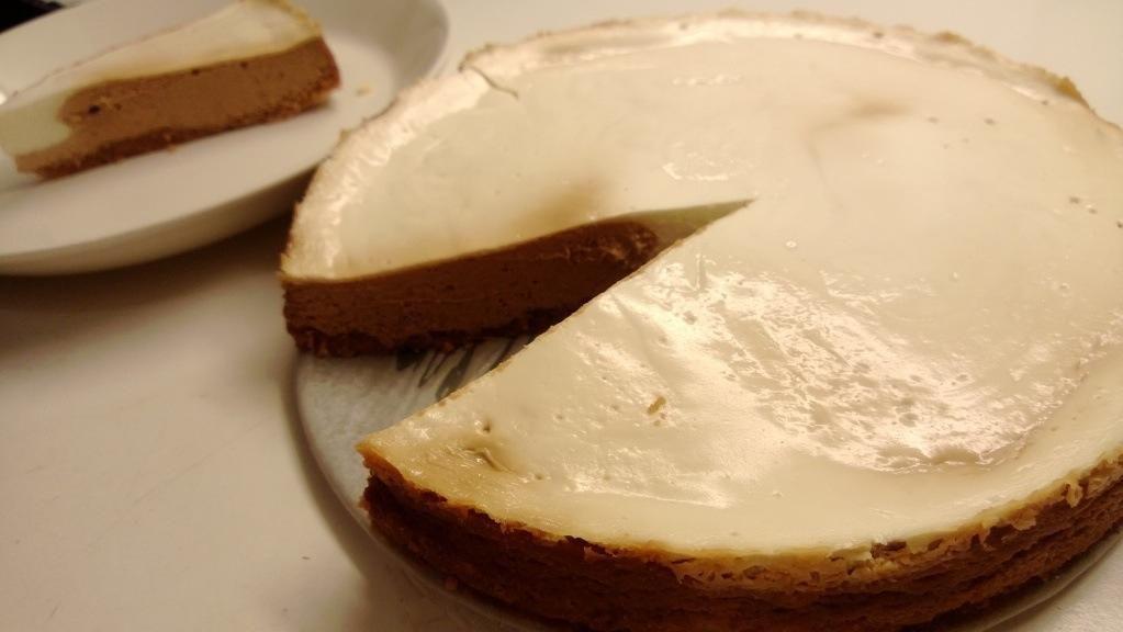 Viljaton juustokakku