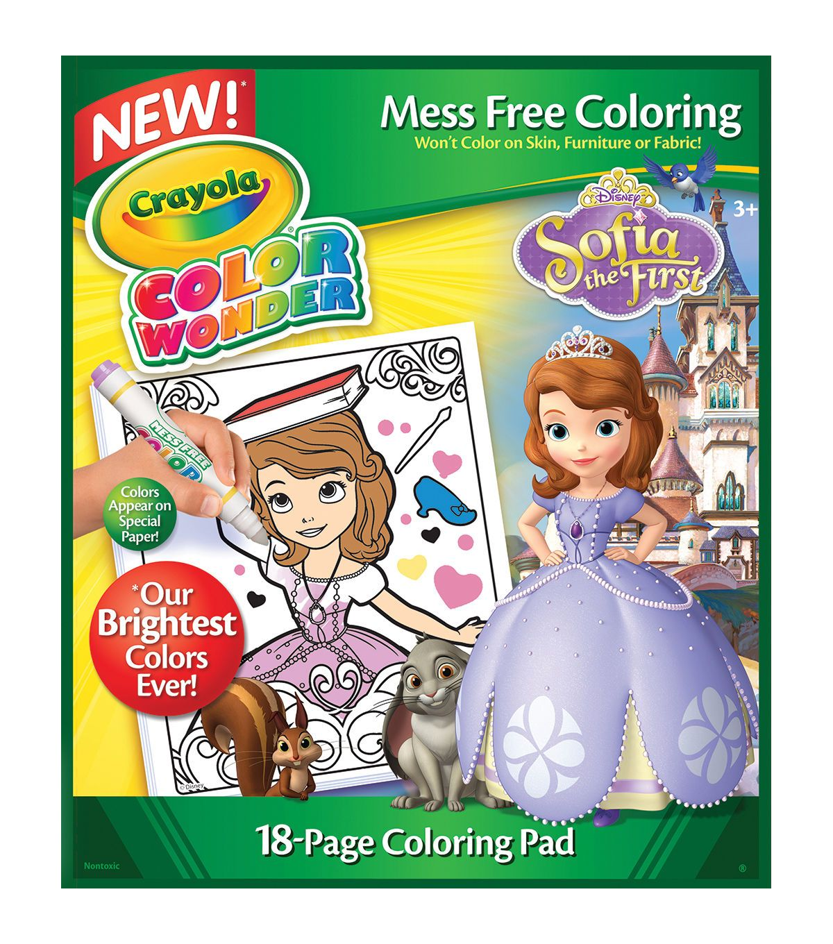Crayola Color Wonder Coloring Pad-Sofia The 1st | Products