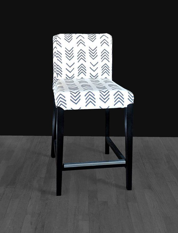 Strange African Arrows Mud Cloth Print Ikea Henriksdal Bar Stool Machost Co Dining Chair Design Ideas Machostcouk