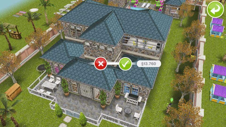 Sims freeplay house idea via facebook sims freeplay house design ideas pinterest sims - Sims freeplay designer home ...