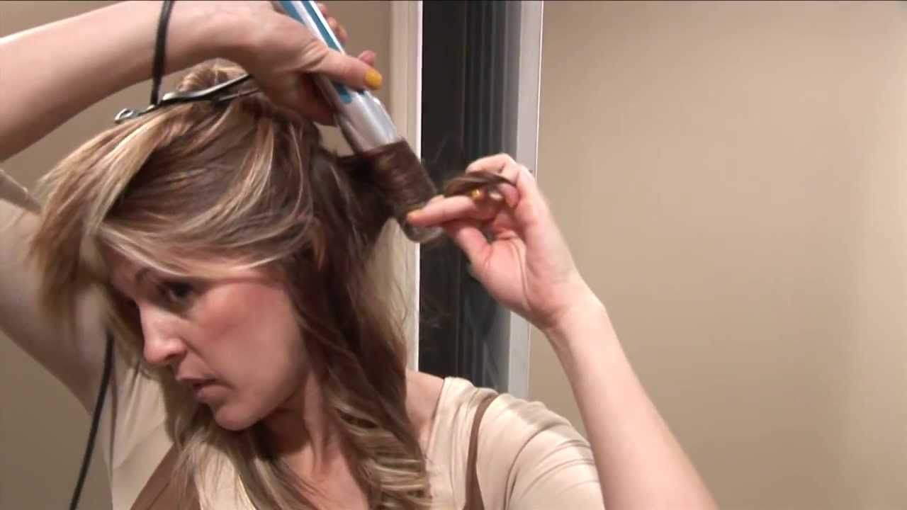 Flat Iron Curls us hair flip Hair Tutorials Hair and
