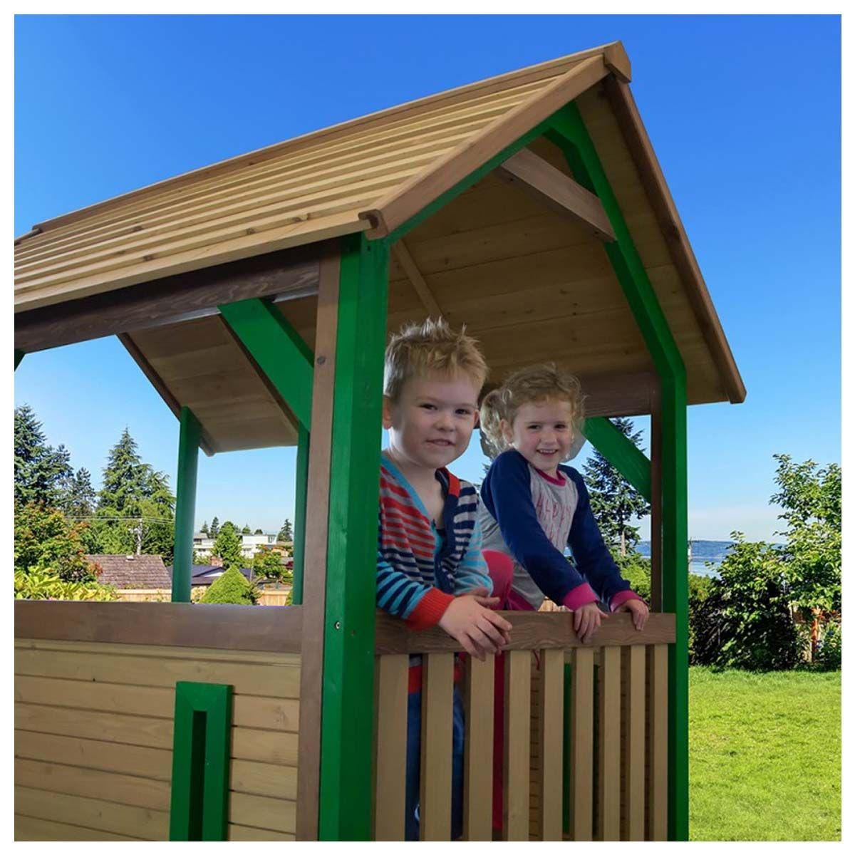 AXI Spielhaus Forest, Holz, Gartenhaus mit Boden und