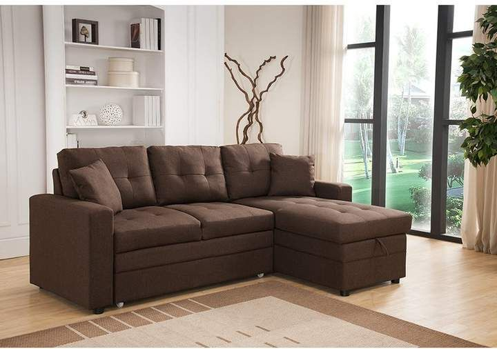 Inessa Reversible Sleeper Sectional Products In 2019