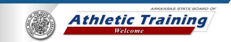 Arkansas State Board of Athletic Training Website