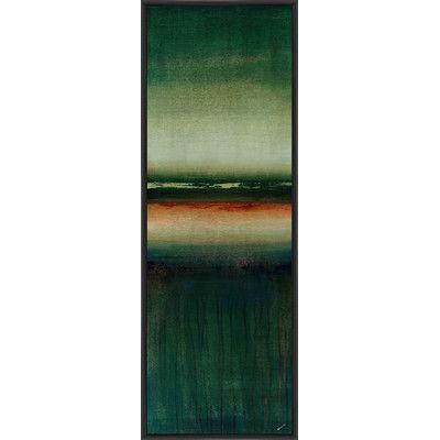 Ptm Images Forecast Vi Framed Painting Print On Canvas Painting Frames Painting Canvas Prints
