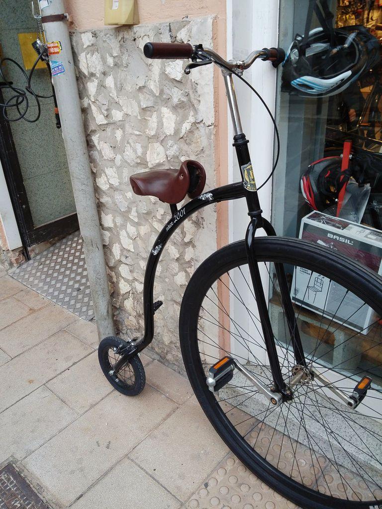 Retro bike. ( LG phone shot.) (:-) by viki1408