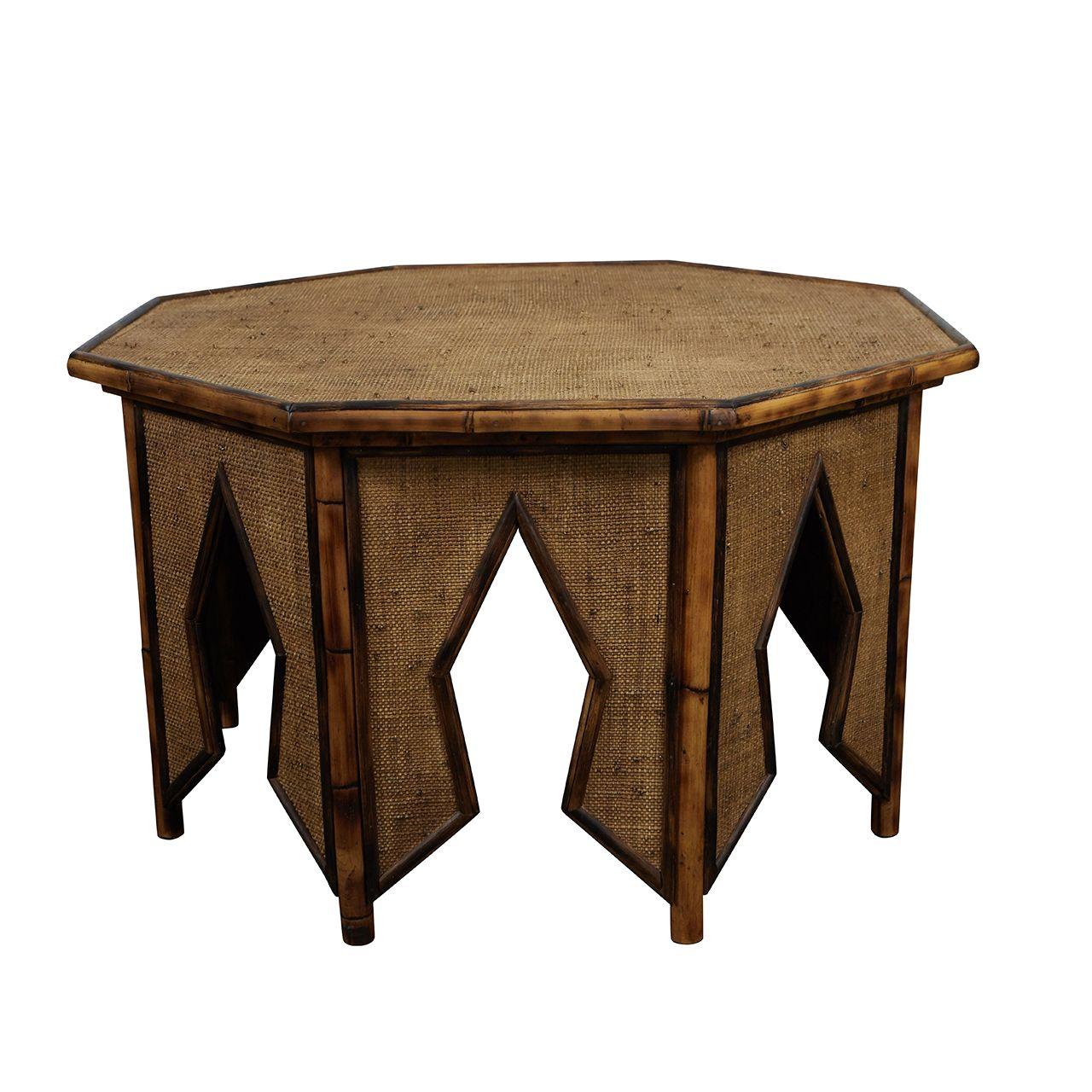 Jw Custom Line Tiger Bamboo Octagonal Coffee Table Jefferson West Inc Octagonal Coffee Table Bamboo Coffee Table Coffee Table [ 1280 x 1280 Pixel ]