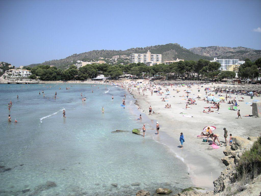 Paguera Beach Paguera Mallorca Spain Mit Bildern Paguera