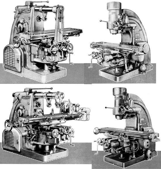 Kearney Trecker Milwaukee 2ck 3ck 3ch 4ch Mills Part Manual