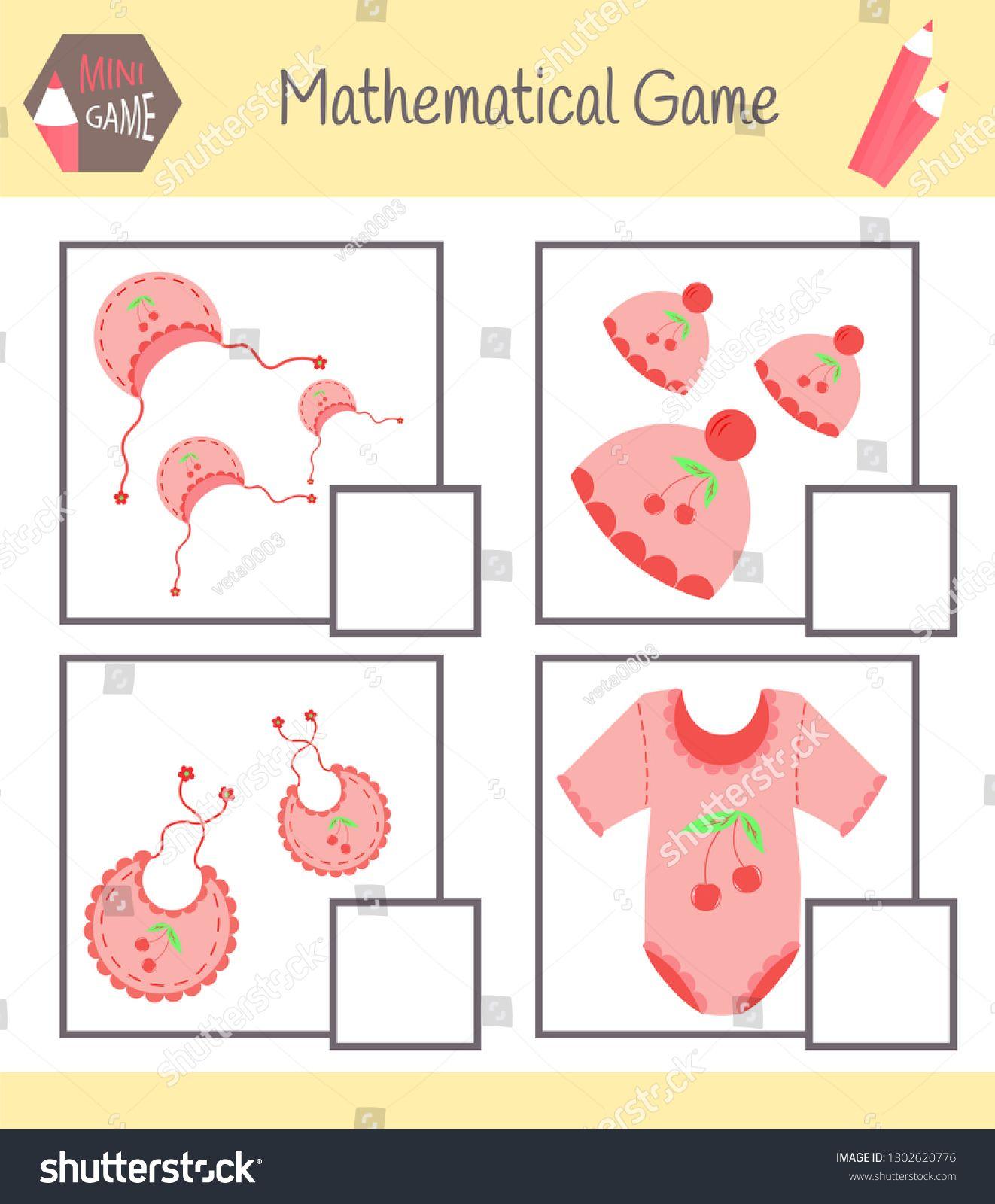 Workbook On Mathematics For Preschool Education Puzzles
