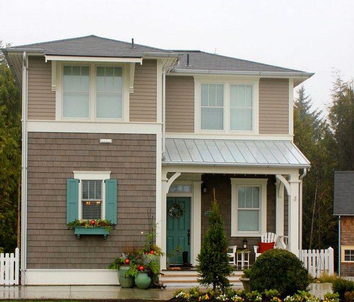 Fachadas de casas de color beige fachadas pinterest - Pinturas exteriores fachadas ...