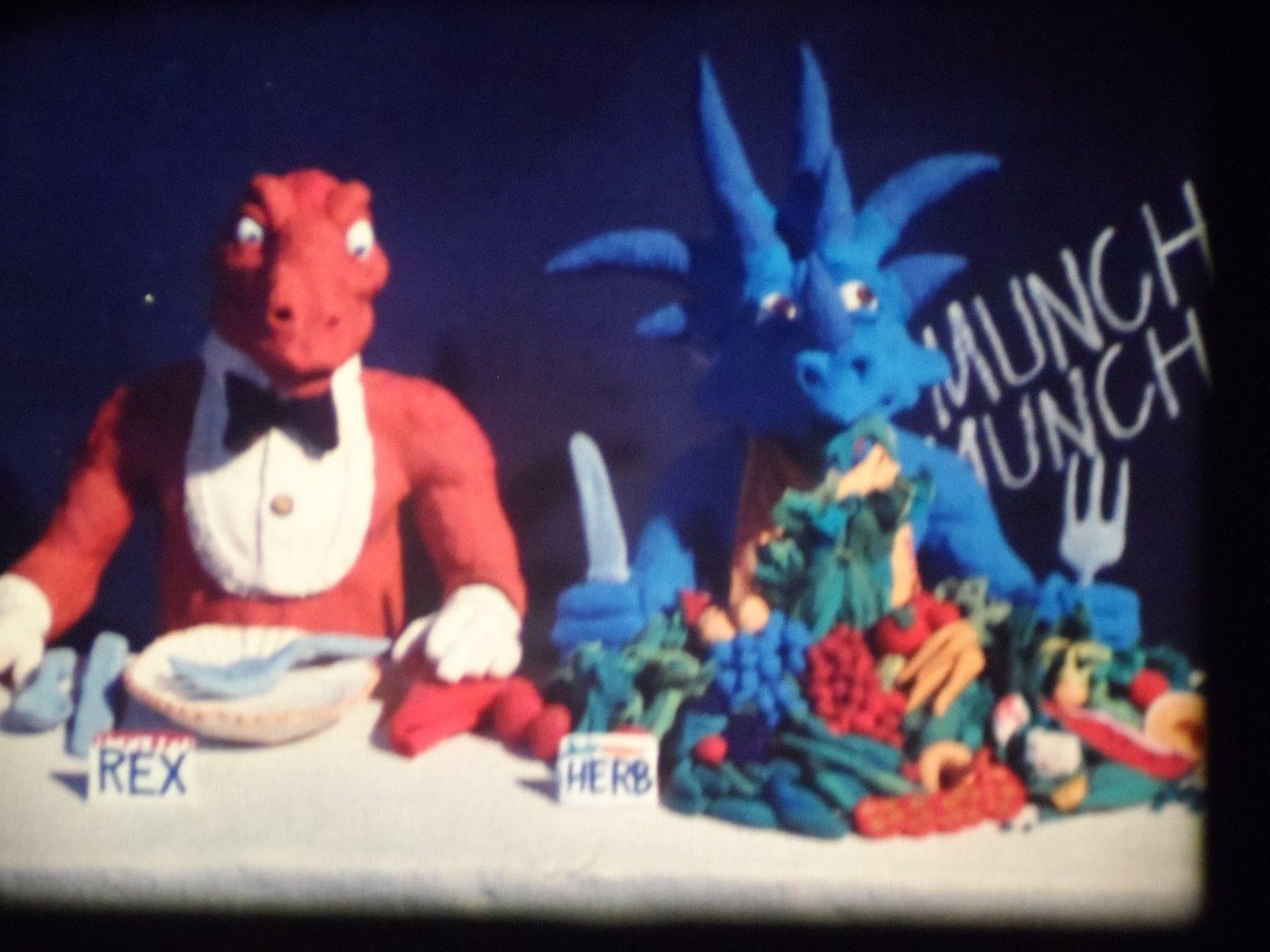 16mm film animated DINOSAUR (1980) LPP color estar