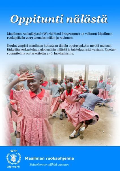 Tervetuloa globaalin nälän oppituntien sivuille!   WFP World Food Programme