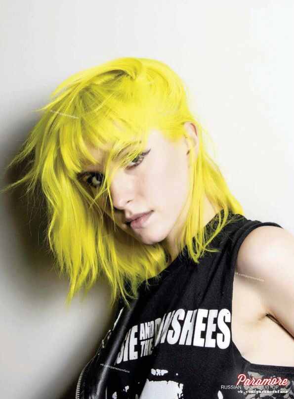 Hayley Williams In 2020 Hayley Williams Good Dye Young Yellow Hair
