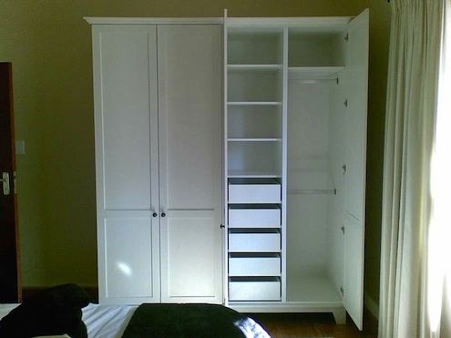 How to Add a Closet Where There Is None | Inside ideas | Wardrobe ...