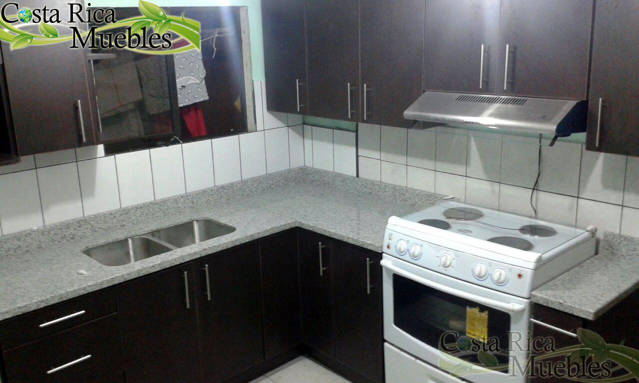 Cocina Melamina y Granito Natural Instalación según diseño acordado ...