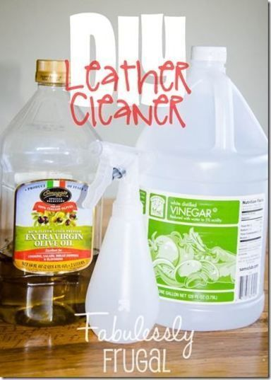 Diy 2 Ingredient Leather Cleaner And Conditioner Cleaning Leather Couch Leather Cleaner Diy Leather Couch