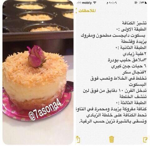 تشيز الكنافة Dessert Recipes Mini Cakes Cheesecake