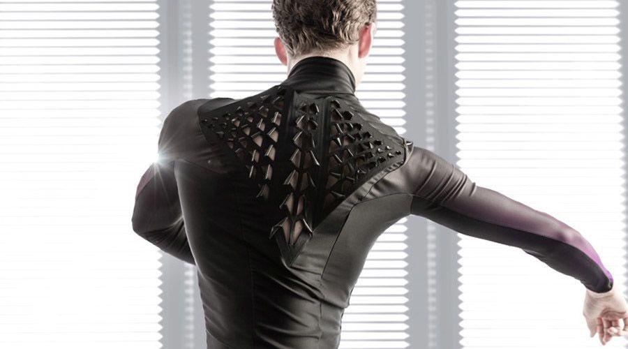Second Skin, l'#abito che si tras-forma quando sudi. #biomorphic #design