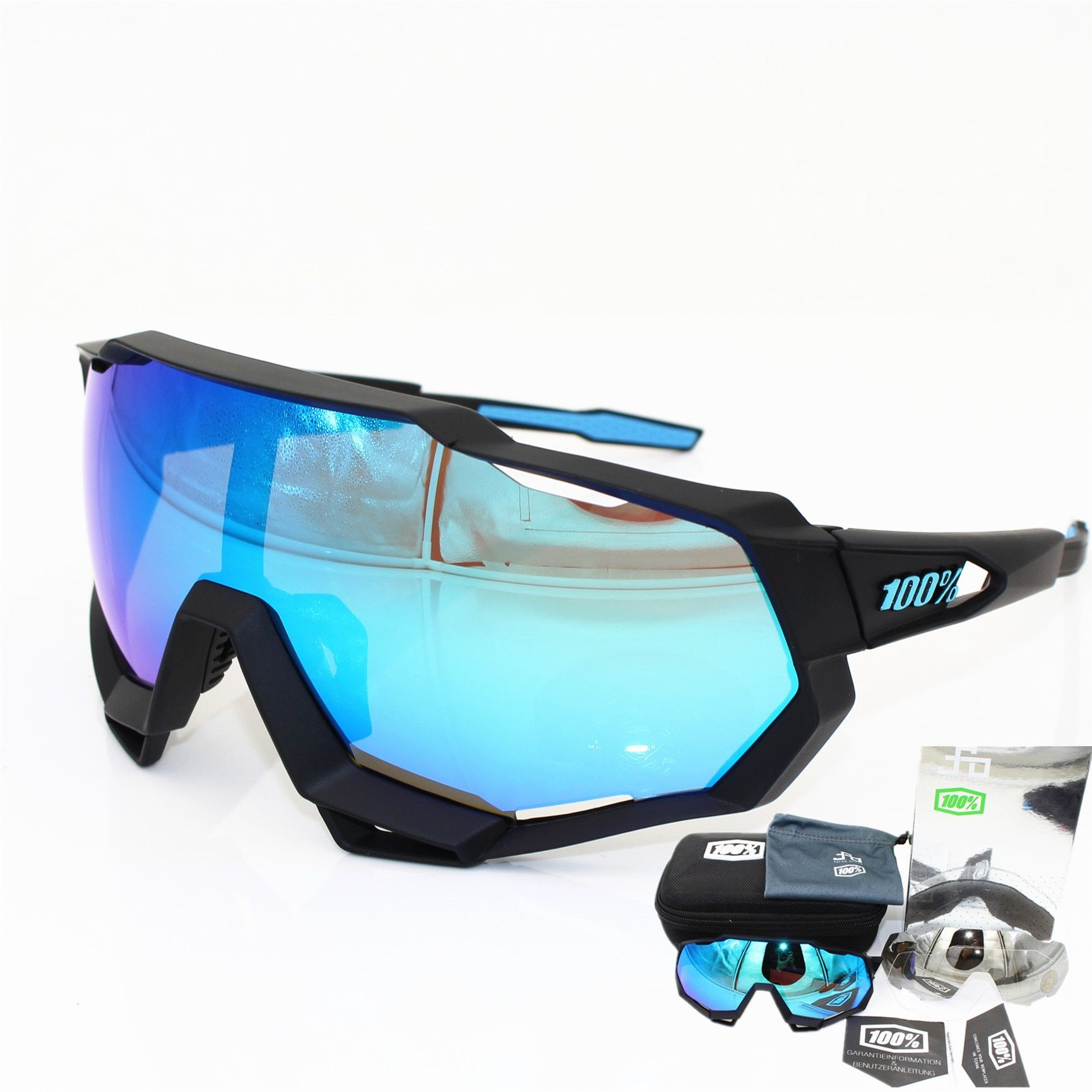 f574b3837a SpeedCraft SL Speedtrap 100% Sports Bicycle Sunglasses Gafas Ciclismo  Cycling Glasses 3 lens UV400 //Price: $9.95 & FREE Shipping // #bikegirl  #bikewomen # ...