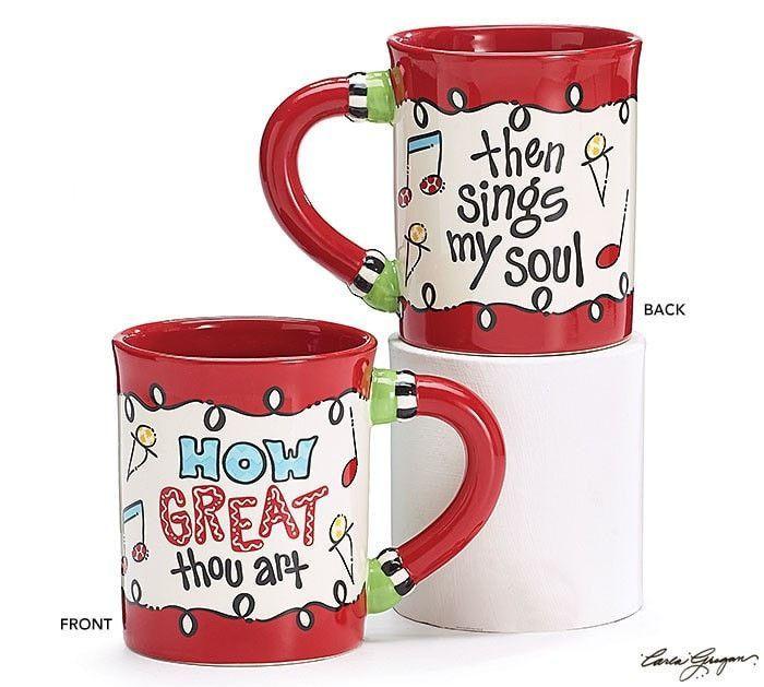 How Great Thou Art Christmas Mug