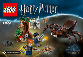 Aragog S Lair 75950 Lego Harry Potter Tm Building Instructions Lego Com Building Instructions Instruction Lego Instructions