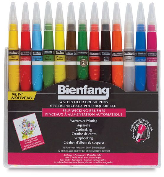 Bienfang Watercolor Brush Pen Sets These Brush Pens Are Amazing