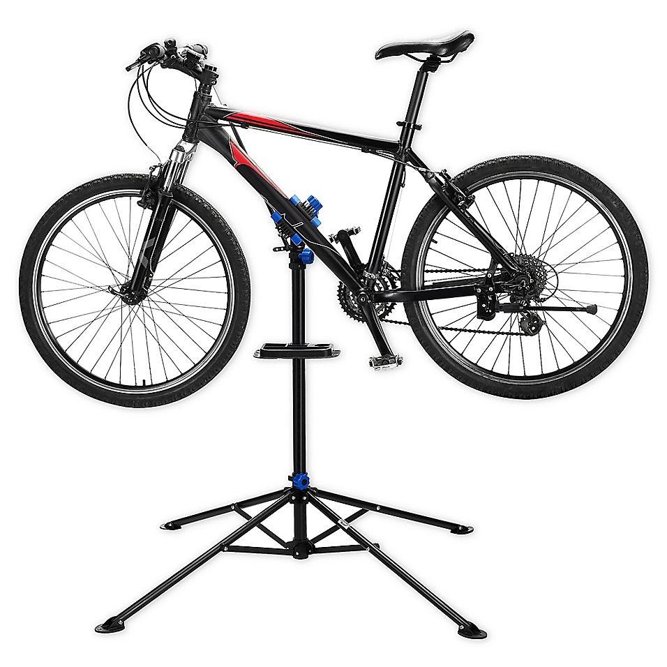 Rad Cycle Pro Bicycle Adjustable Repair Stand In Black Bike
