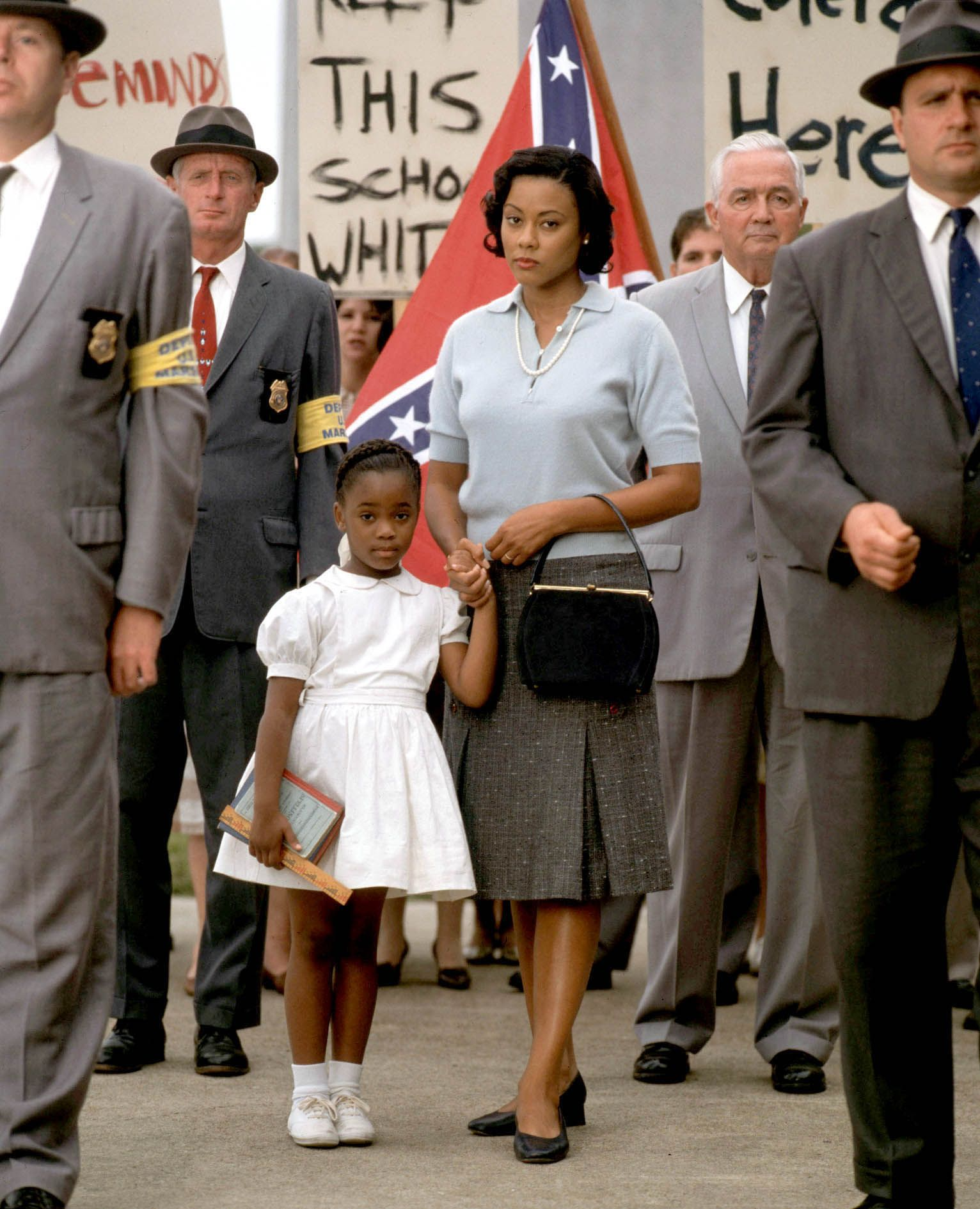Ruby Bridges September 8 At Age Six Was Escorted