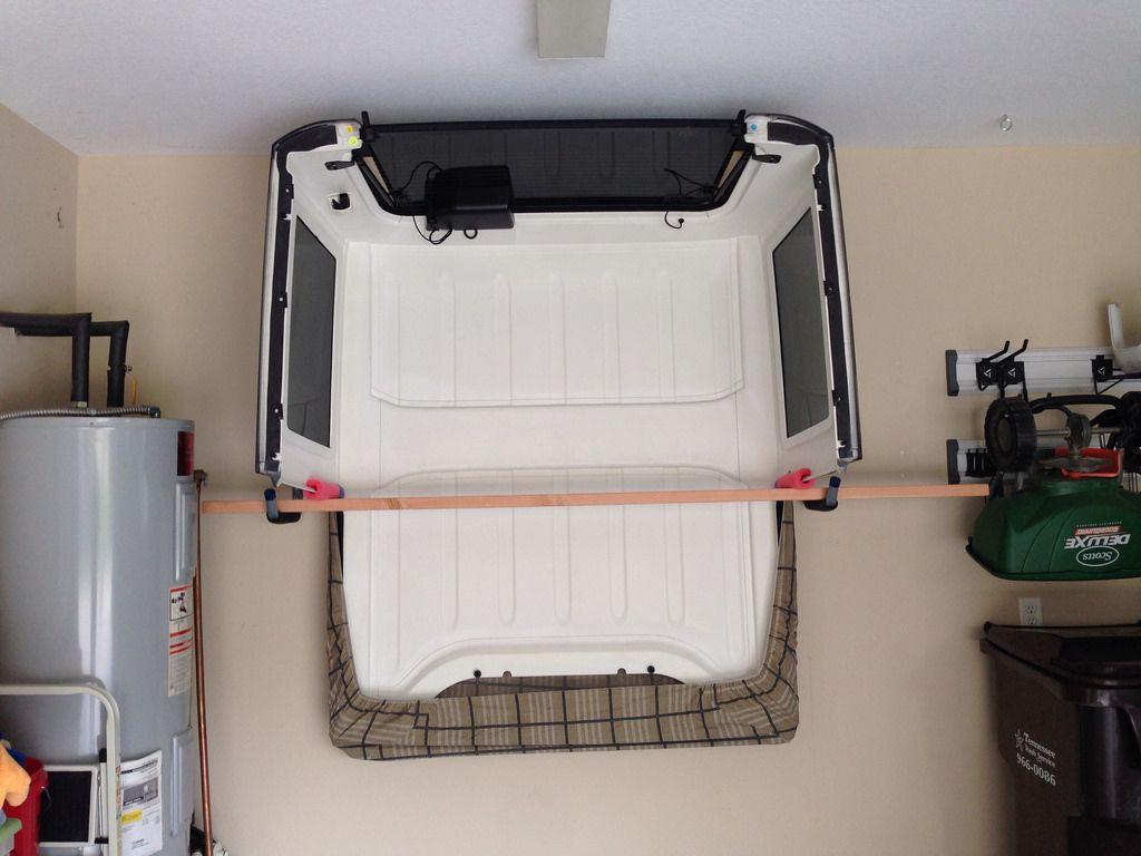 Hard Top Storage Ideas Page 2 Jeep Wrangler Forum Jeep