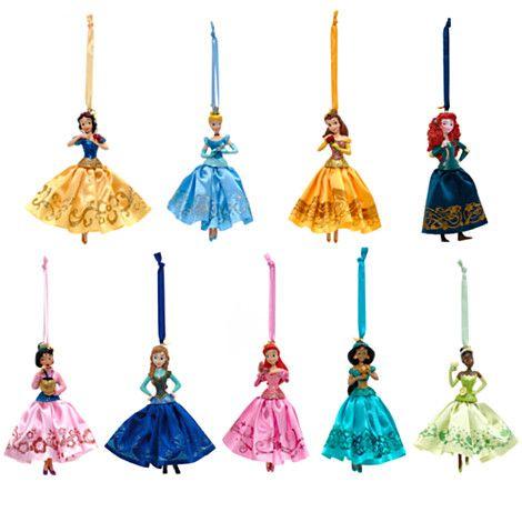 Disney Princesses Christmas Tree Decorations