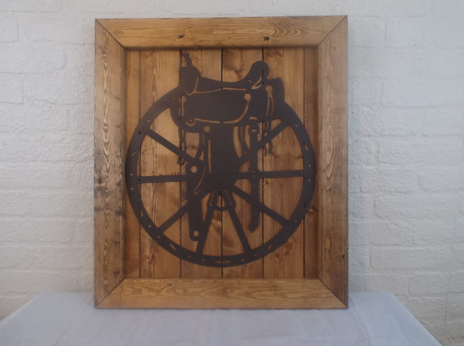 by ReadinginRags on Etsy Rustic frames, Metal wagon