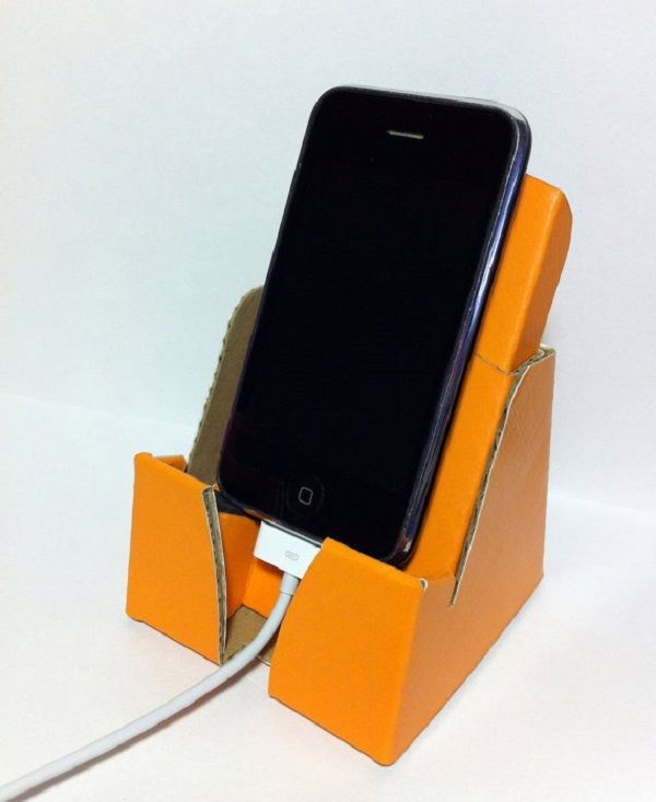 Eco Phone Dock And Stand Cardboard Pinterest Phone