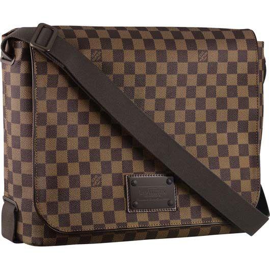 793cd6ad43cd Louis Vuitton Mens Brooklyn GM Messenger Bag. www.designerclothingfans.com