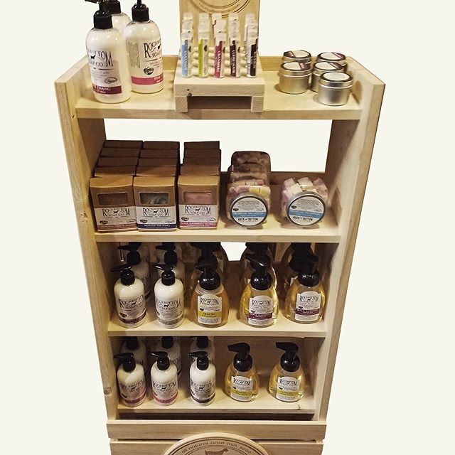 Retail Displays Created For Rock Bottom Soap Company