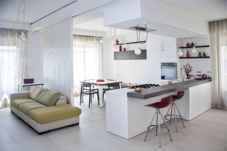 cuisine ouverte sur salon une solution pour tous les espaces - Amenagement Cuisine Ouverte Avec Salle A Manger