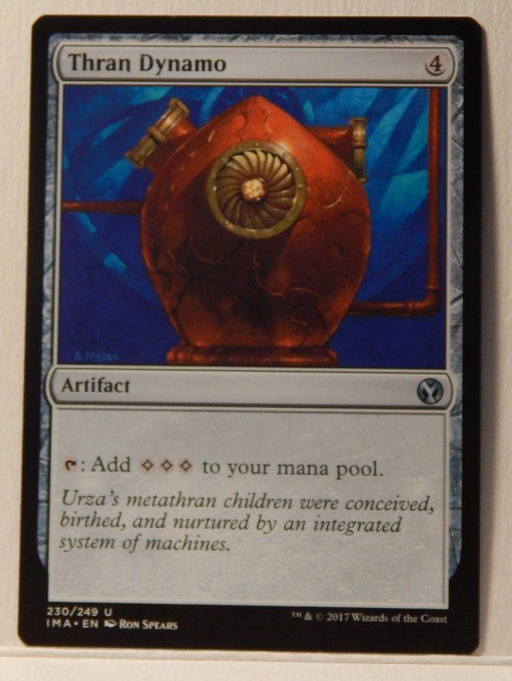 Foil 230//249 Near Mint MTG Iconic Masters IMA Thran Dynamo