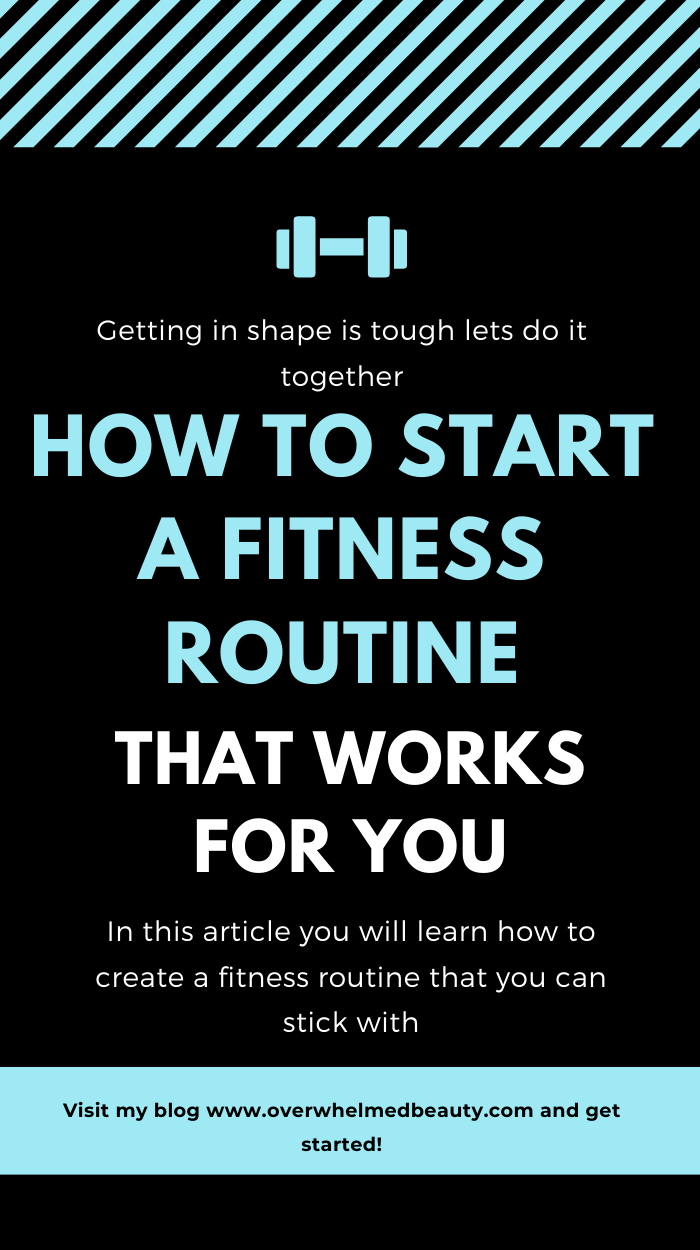 How to establish a routine to achieve your fitness goals . This post is about finding motivation to...