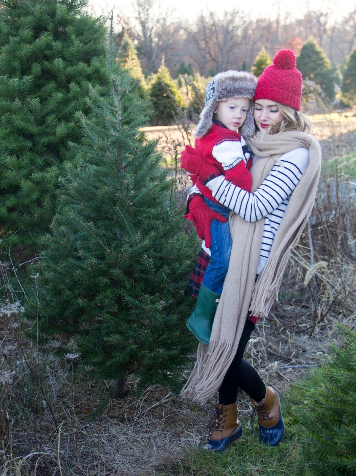 Christmas Tree Farm Outfits With Payless Shoes Christmas Tree Farm Family Photos Womens Winter Outfit Best Black Friday Farm Clothes Christmas Tree Farm