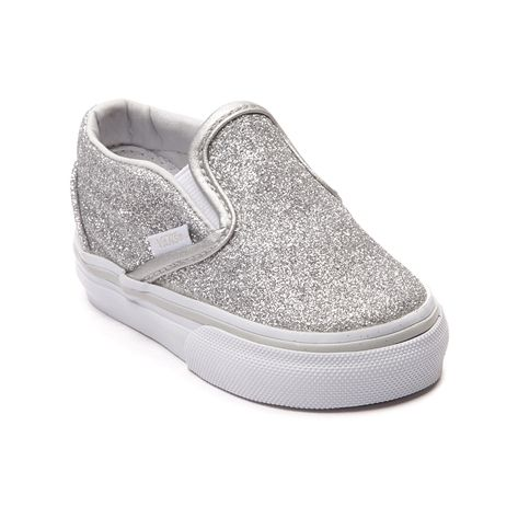 Shop for Toddler Vans Slip-On Glitter Skate Shoe in Silver at Journeys  Kidz. Shop today for the hottest brands in mens shoes and womens shoes at  ... 3b20e5f714