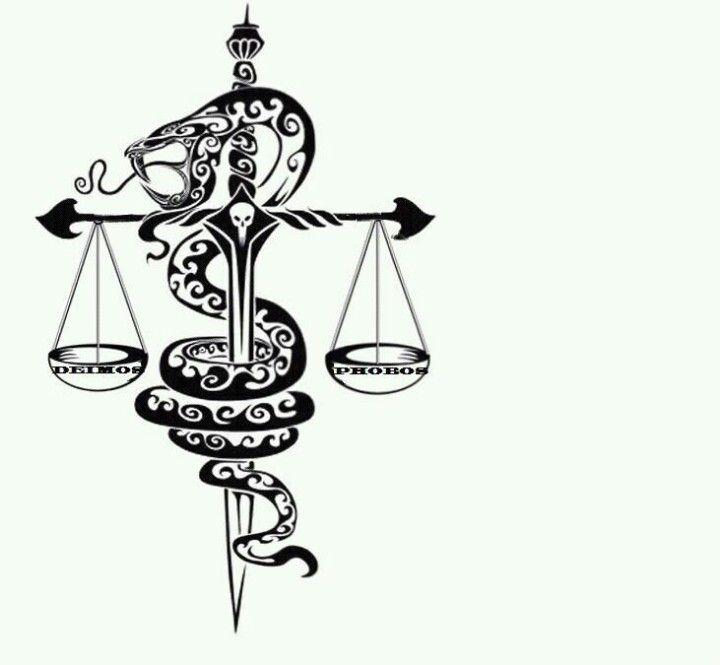 Snake Justice Tattoo Tattoos Snake Tattoo Design Scale Tattoo