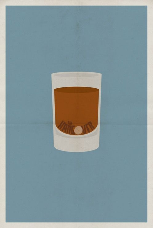Hangover #movie #poster #minimalist