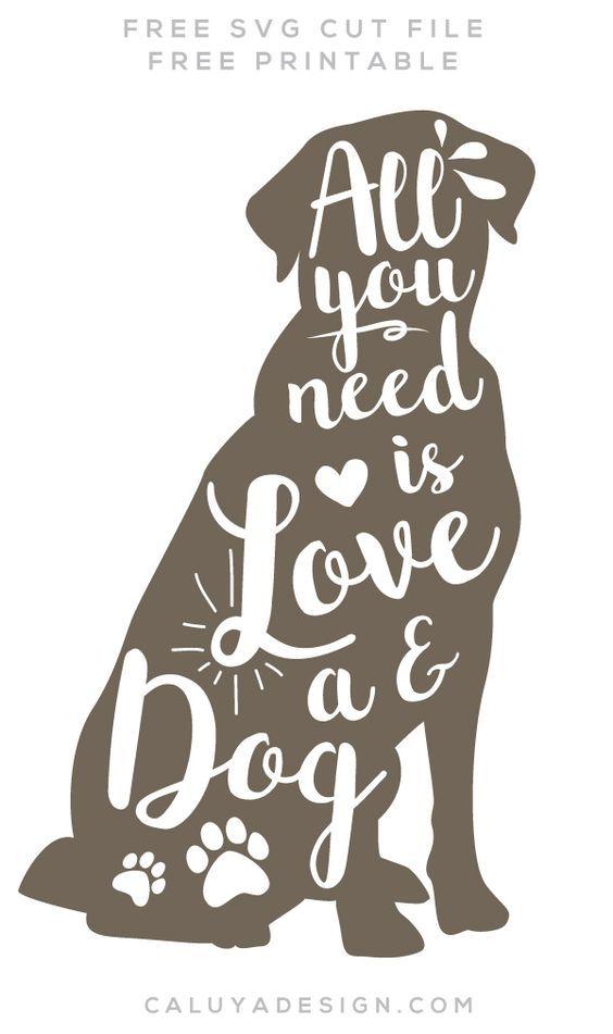 Dog Lover Svg Free Download Svg Png By Disenos De Cuadernos De Recortes Svg Archivos Gratis Silueta De Perro