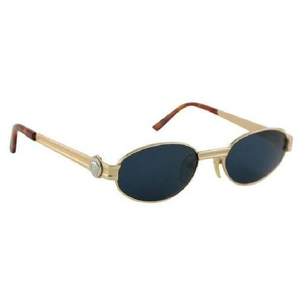 b3d53f76dfb2 Pre-Owned Versace Vintage Sunglasses 2512 ( 508) ❤ liked on Polyvore  featuring accessories