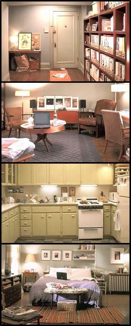 carrie bradshaw's apartment                                                                                                                                                                                 Más