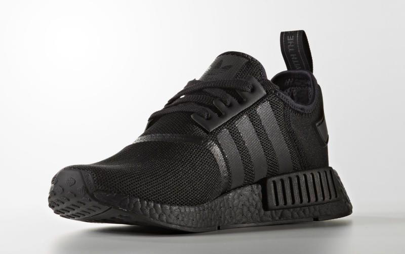 buy online 3470b f4375 adidas NMD Triple black with Reflective Stripes💯 l Follow us on Twitter   https