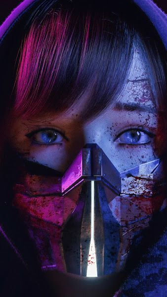 Sci Fi Girl Mask 4k 3840x2160 Wallpaper Cyberpunk Girl Cyberpunk Aesthetic Sci Fi Wallpaper