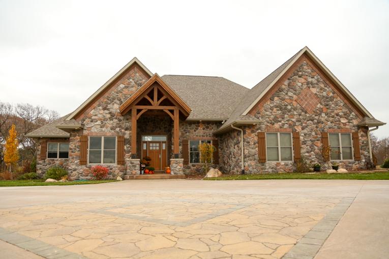 Custom Home Builder Iowa City and Solon | Rustic Dream Home